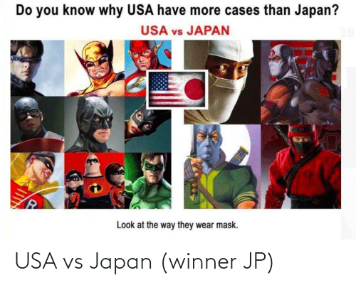 Japan: USA vs Japan (winner JP)