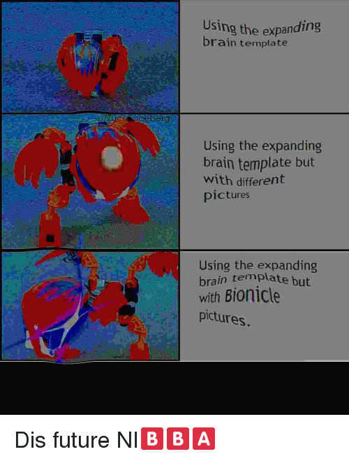 using the expanding brain template using the expanding brain