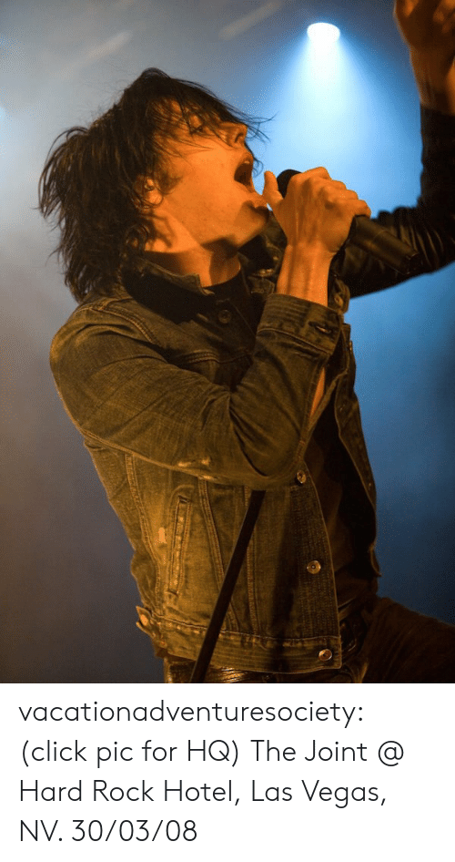 Click, Tumblr, and Las Vegas: vacationadventuresociety:  (click pic for HQ) The Joint @ Hard Rock Hotel, Las Vegas, NV. 30/03/08
