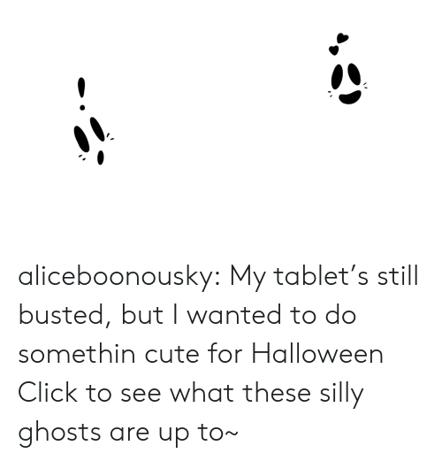 Click, Cute, and Halloween: vevo  1-4)  0:00 / 3:32  Rick Astley - Never Gonna Give You Up (Video)  449,008,356 views  2.9M 38KSHARE.. aliceboonousky:  My tablet's still busted, but I wanted to do somethin cute for Halloween Click to see what these silly ghosts are up to~