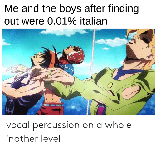 Nother: vocal percussion on a whole 'nother level
