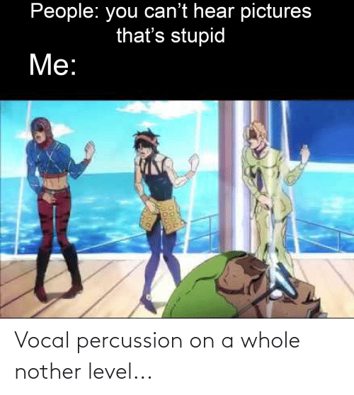 Nother: Vocal percussion on a whole nother level...