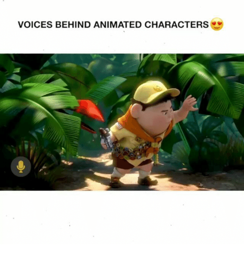 Indonesian (Language), Animated, and Animated Characters: VOICES BEHIND ANIMATED CHARACTERS