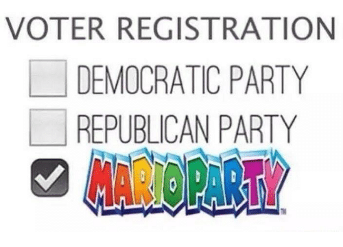 democratic: VOTER REGISTRATION  LI DEMOCRATIC PARTY  REPUBLICAN PARTY  AROPART