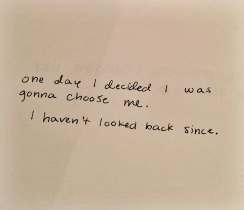 Back, One, and Ola: w as  one ola I decideo  gonna choose me  havenlooked back since.