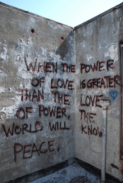 Power, World, and Peace: W POWER  WORLD WILL kNo  PEACE