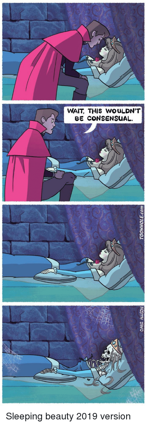 Sleeping Beauty: WAIT, THIS WOULDN'T  BE CONSENSUAL Sleeping beauty 2019 version