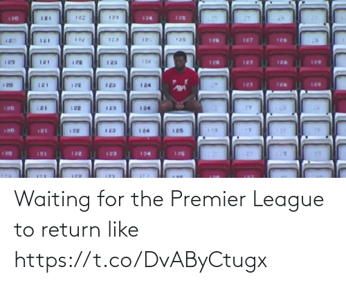league: Waiting for the Premier League to return like https://t.co/DvAByCtugx