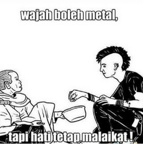 Indonesian (Language), Metal, and Ata: wajab bolen metal,  urus  Ata pi hatnjtetapmalaikat.