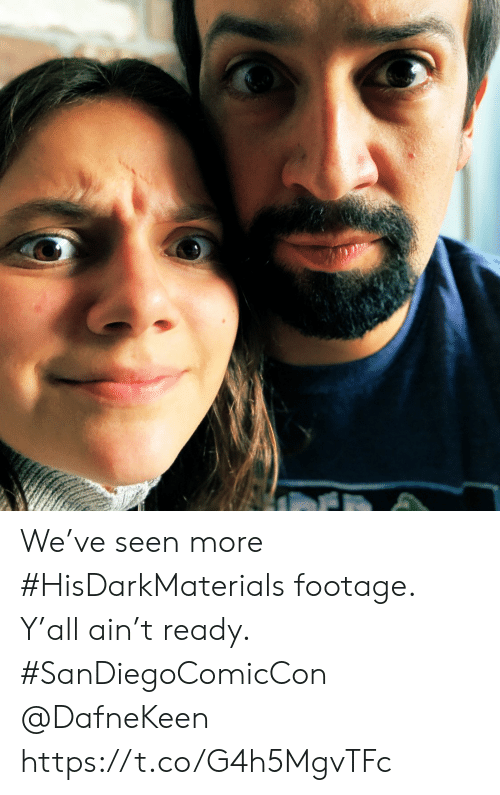 Memes, 🤖, and More: We've seen more #HisDarkMaterials footage. Y'all ain't ready.  #SanDiegoComicCon  @DafneKeen https://t.co/G4h5MgvTFc