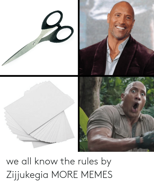 Rules: we all know the rules by Zijjukegia MORE MEMES