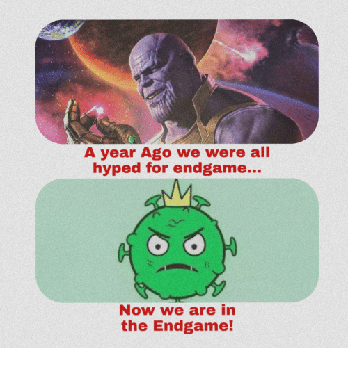 endgame: We are in the endgame now
