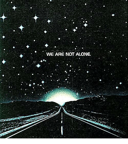 Being Alone, Not, and Not Alone: WE ARE NOT ALONE
