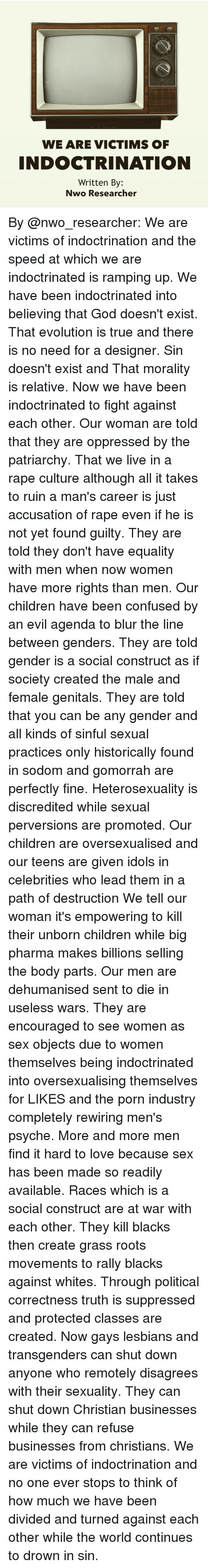 patriarchy is the root of gender