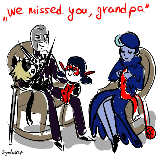 "Grand, You, and Missed: we missed you, grand pa""  Pchuk"
