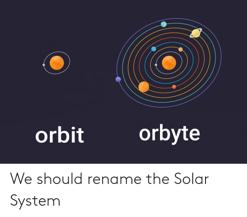 Solar System: We should rename the Solar System