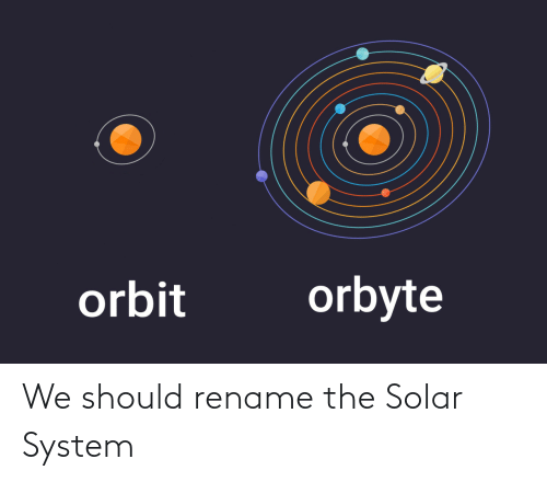 Solar System, Solar, and System: We should rename the Solar System