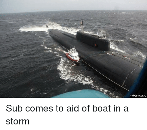 Boat, Storm, and  Sub: webdiscover.ru Sub comes to aid of boat in a storm