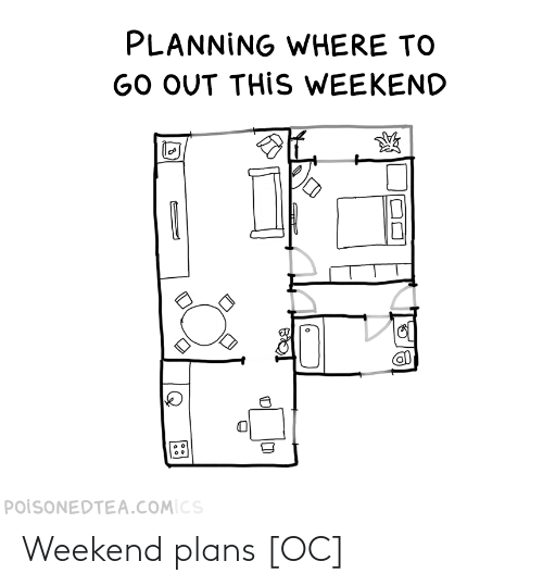 Weekend Plans: Weekend plans [OC]