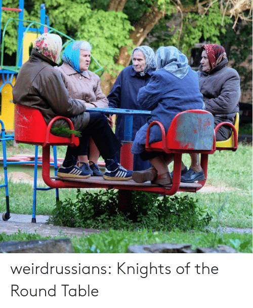 knights: weirdrussians:  Knights of the Round Table