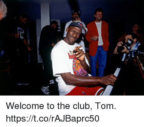 Club, Memes, and 🤖: Welcome to the club, Tom. https://t.co/rAJBaprc50
