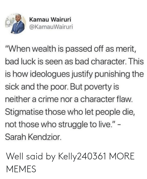 well said: Well said by Kelly240361 MORE MEMES