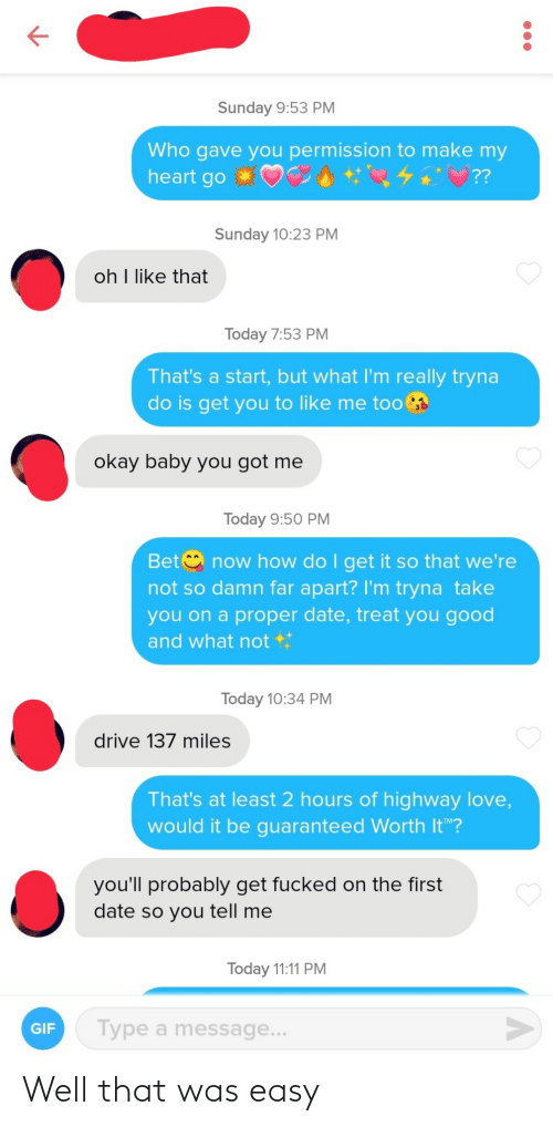 That Was Easy: Well that was easy