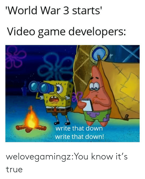 Know Its: welovegamingz:You know it's true