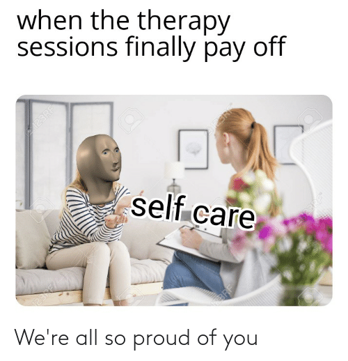 So Proud Of You: We're all so proud of you