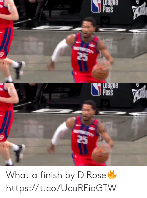 Finish: What a finish by D Rose🔥 https://t.co/UcuREiaGTW