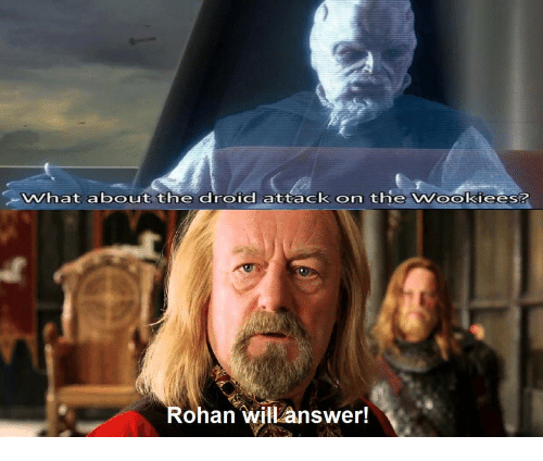 What About the Droid Attack on the Vookiees? Rohan Willanswer