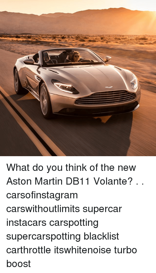 Aston Martin: What do you think of the new Aston Martin DB11 Volante? . . carsofinstagram carswithoutlimits supercar instacars carspotting supercarspotting blacklist carthrottle itswhitenoise turbo boost