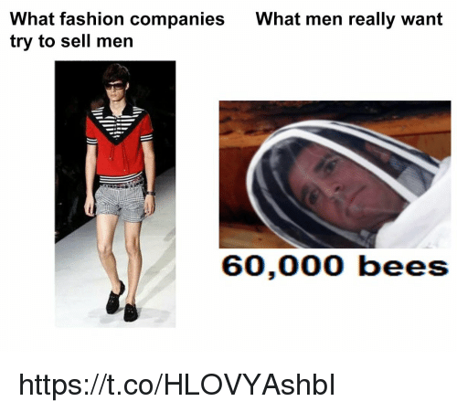 Fashion, What, and Companies: What fashion companies  try to sell men  What men really want https://t.co/HLOVYAshbI