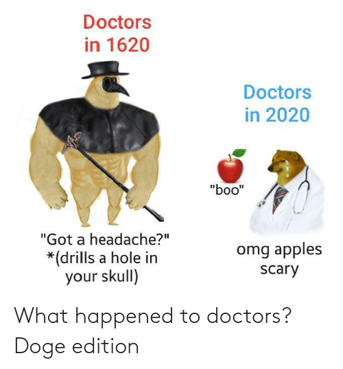 what happened: What happened to doctors? Doge edition
