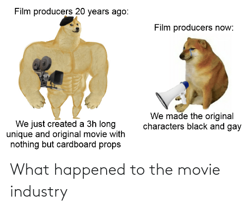 Movie: What happened to the movie industry