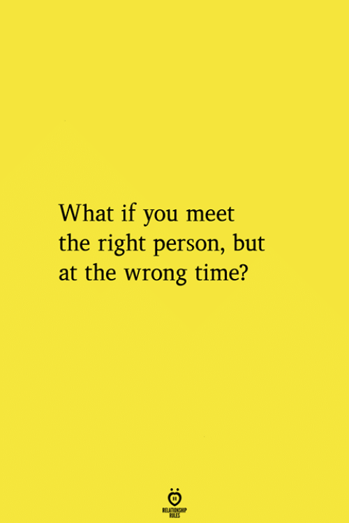 Time, Aes, and You: What if you meet  the right person, but  at the wrong time?  RELATIONGHP  AES