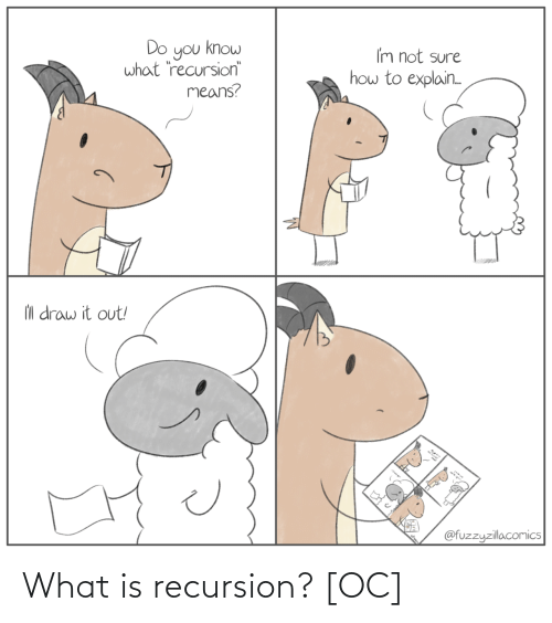What Is: What is recursion? [OC]