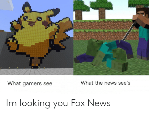 News, Fox News, and Dank Memes: What the news see's  What gamers see Im looking you Fox News
