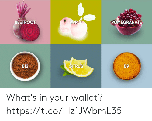 Whats, Wallet, and Your: What's in your wallet? https://t.co/Hz1JWbmL35