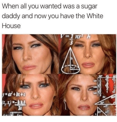 White House, House, and Sugar: When all you wanted was a sugar  daddy and now you have the White  House  2  2a