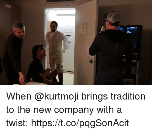 Memes, 🤖, and Company: When @kurtmoji brings tradition to the new company with a twist: https://t.co/pqgSonAcit