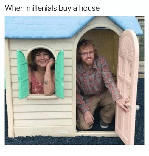 Dank, House, and 🤖: When millenials buy a house