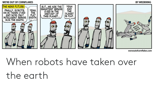 Earth: When robots have taken over the earth