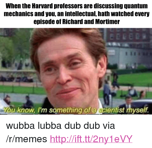 When The Harvard Professors Are Discussing Quantum Mechanics And You