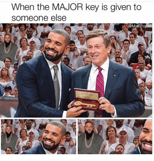 major key: When the MAJOR key is given to  someone else  @Masi Po