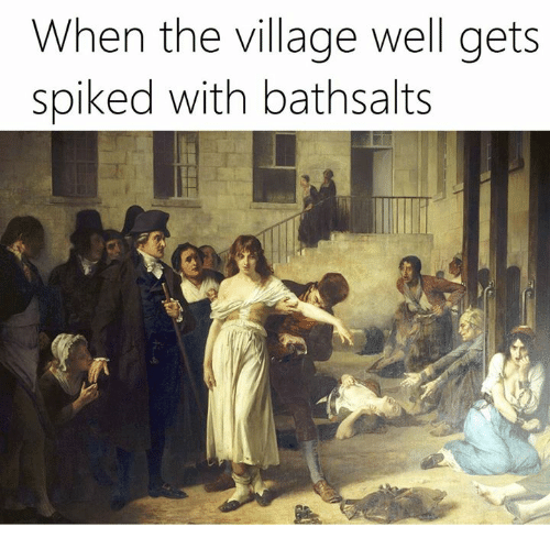 The Villager: When the village well gets  spiked with bathsalts
