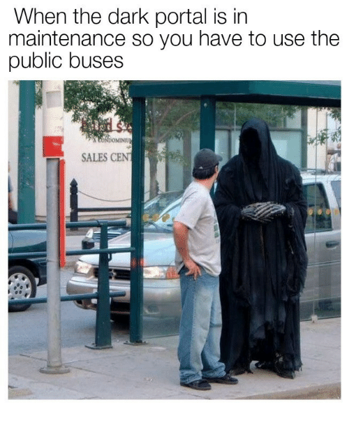 Portal, Cent, and Dark: When tne dark portal is in  maintenance so you have to use the  public buses  SALES CENT