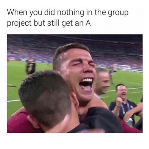 Project, Group, and Did: When you did nothing in the group  project but still get an A