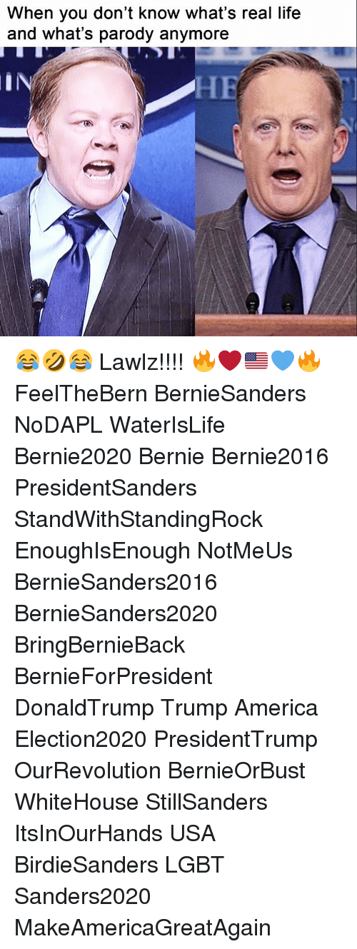 Trump America: When you don't know what's real life  and what's parody anymore 😂🤣😂 Lawlz!!!! 🔥❤️🇺🇸💙🔥 FeelTheBern BernieSanders NoDAPL WaterIsLife Bernie2020 Bernie Bernie2016 PresidentSanders StandWithStandingRock EnoughIsEnough NotMeUs BernieSanders2016 BernieSanders2020 BringBernieBack BernieForPresident DonaldTrump Trump America Election2020 PresidentTrump OurRevolution BernieOrBust WhiteHouse StillSanders ItsInOurHands USA BirdieSanders LGBT Sanders2020 MakeAmericaGreatAgain