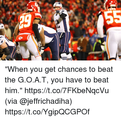 "Beat Him: ""When you get chances to beat the G.O.A.T, you have to beat him."" https://t.co/7FKbeNqcVu (via @jeffrichadiha) https://t.co/YgipQCGPOf"